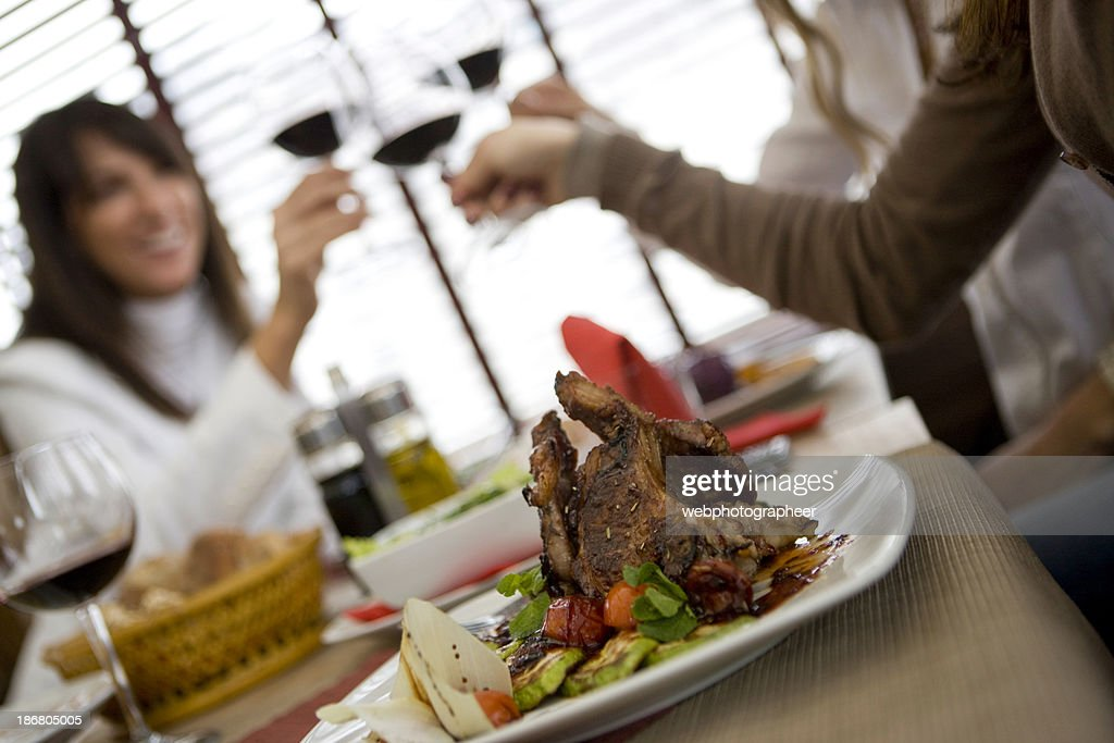 Dinner party : Stock Photo