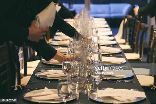 dinner party - la belle équipe restaurant stock pictures, royalty-free photos & images
