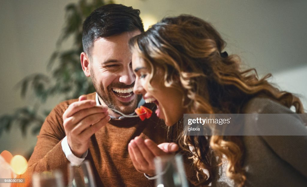 Dinner party. : Stock Photo
