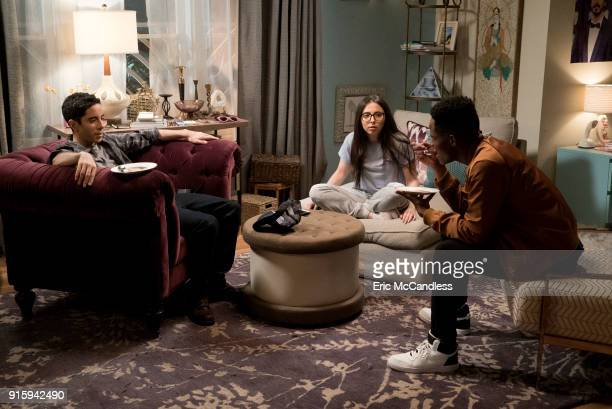 TOGETHER 'Dinner Party' When Esther invites a lesbian couple from her building over for a dinner party to convince them to become her mentors Benji...