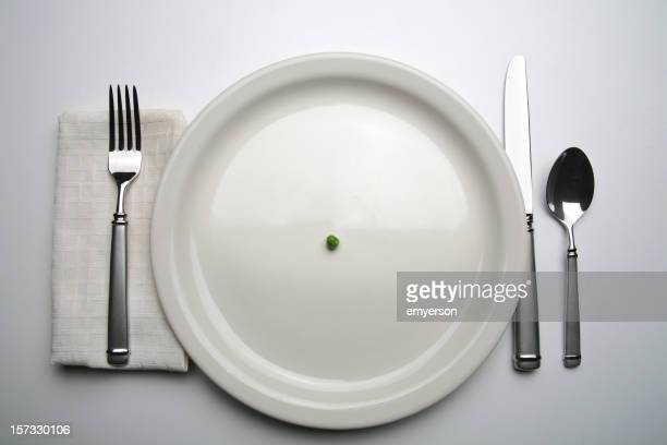 dinner - serving size stock photos and pictures