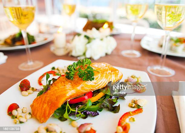 dinner - seafood stock pictures, royalty-free photos & images