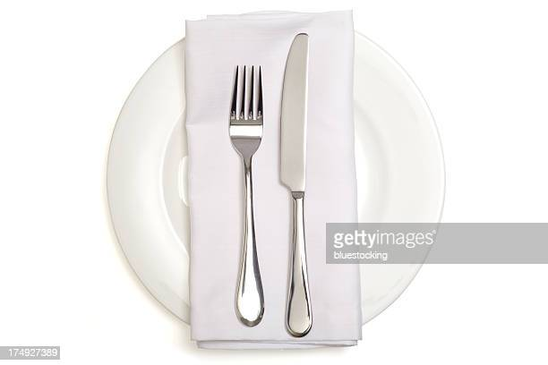 dinner place setting - napkin stock pictures, royalty-free photos & images