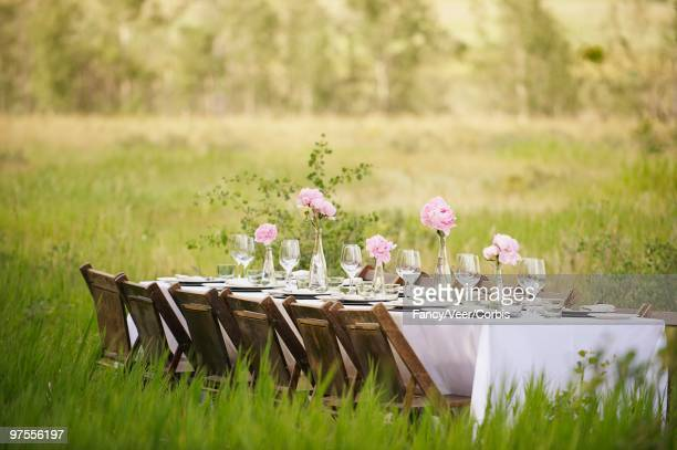 Dinner Table Outdoors