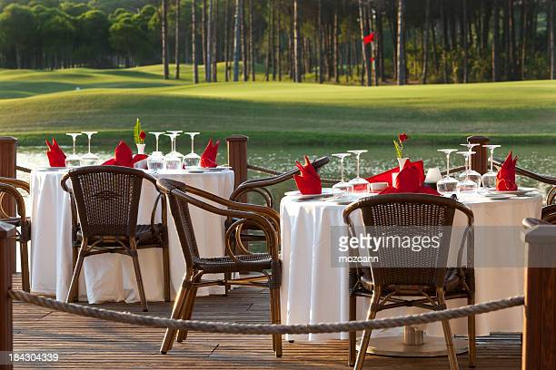 dinner table - belek stock pictures, royalty-free photos & images