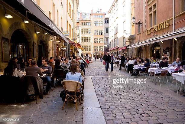 Dinning at Bouchon Lyonnais