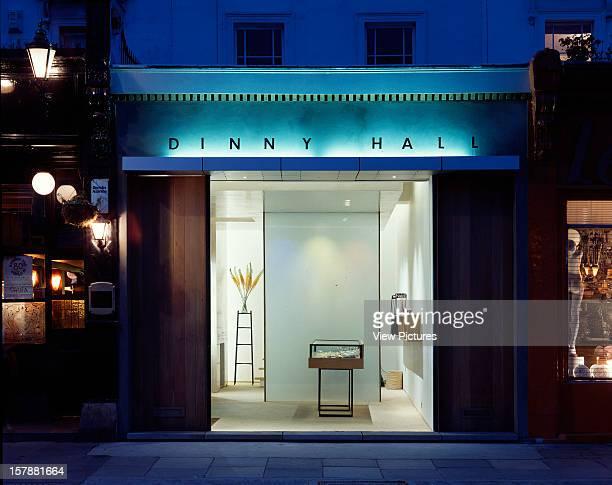 Dinny Hall Jewellery Shop London United Kingdom Architect Munkenbeck And Marshall Dinny Hall Jewellery Shop Shop Exterior Dusk