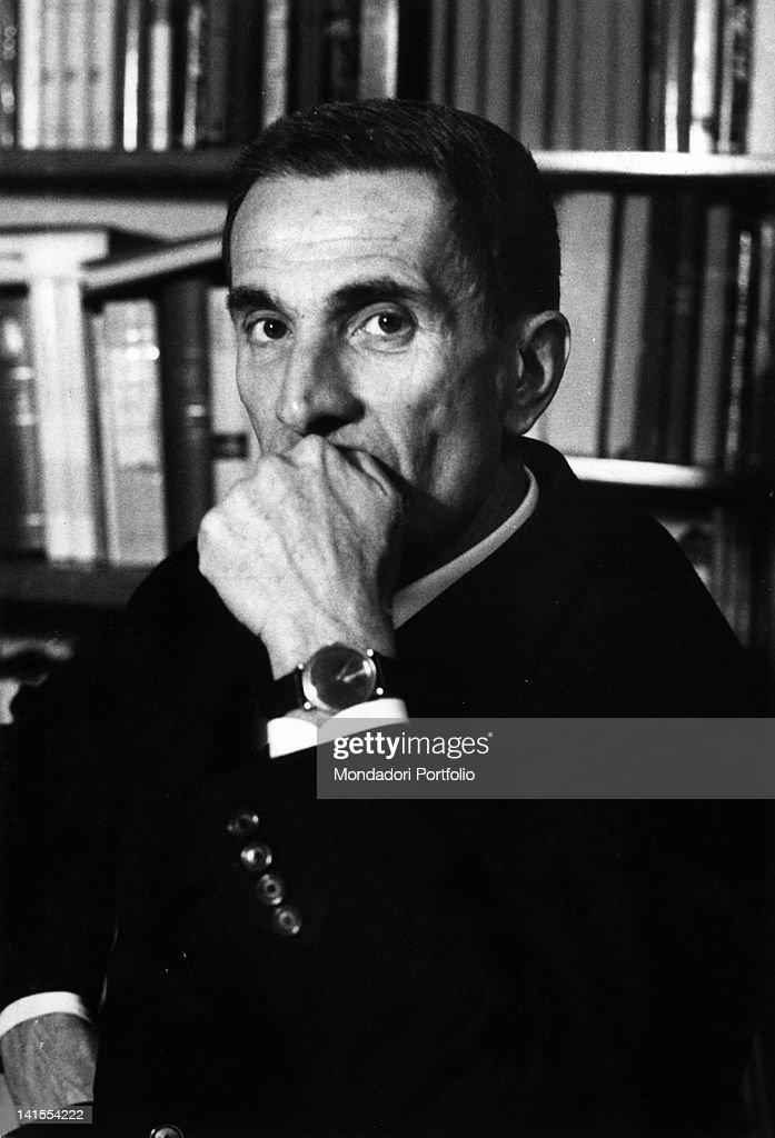 Portrait Of Dino Buzzati : News Photo