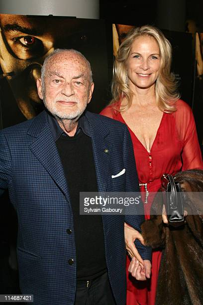 """Dino De Laurentiis and Martha De Laurentiis during Metro-Goldwyn-Mayer Pictures' and The Weinstein Company's Premiere of """"Hannibal Rising"""" - Inside..."""