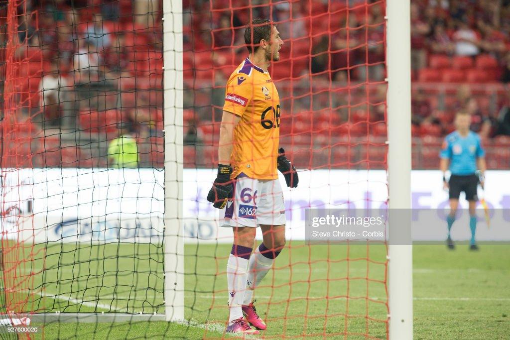 A-League Rd 23 - Western Sydney v Perth : News Photo