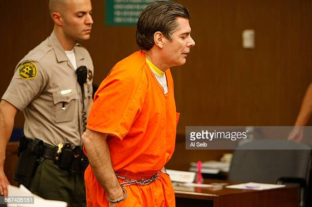 SAN FERNANDO CA JUNE 18 2014 Dino Guglielmelli enters a San Fernando courtroom where he was sentenced to nine years for attempted murder of his wife...