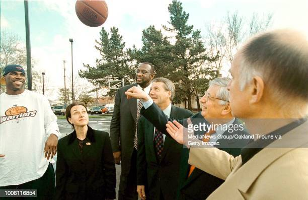 dino vournas/staff 2/10/00 tribune news#13The Golden State Warriors and Chevron banded together to build the new AllStar Park on Seminary Ave in...