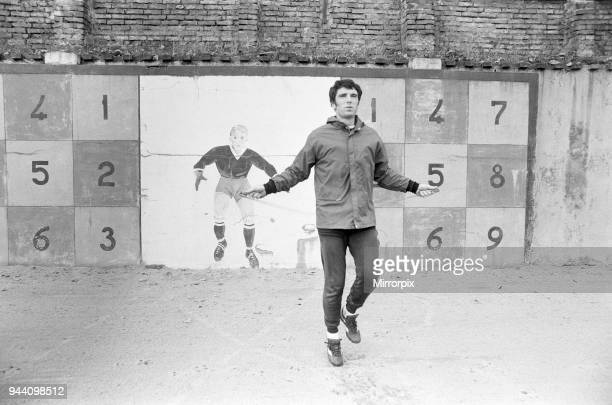 Dino Zoff goalkeeper for Juventus pictured during team training session in Turin Italy 10th November 1977