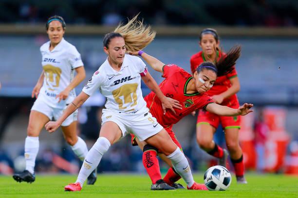 MEX: Pumas v Juarez - Torneo Grita Mexico A21 Liga MX Femenil