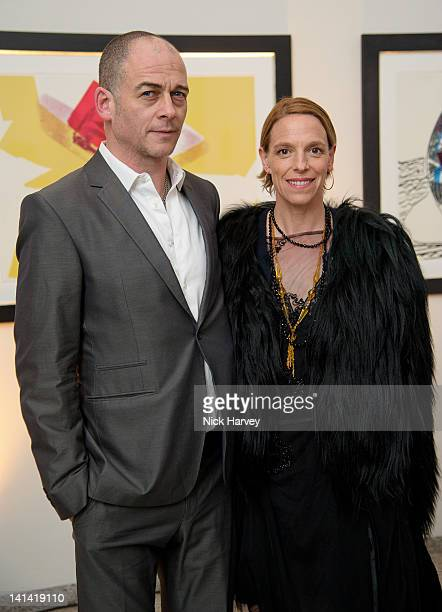 Dinos Chapman and Tiphaine de Lussy attend annual party to raise funds for Whitechapel Art Gallery's exhibition and education programme at...