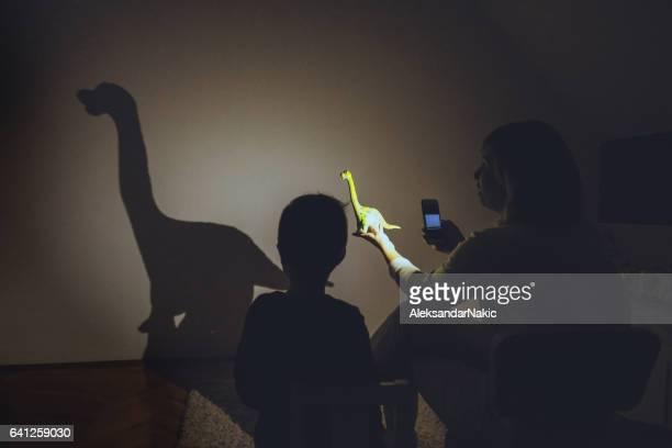 Dinosaur in my room