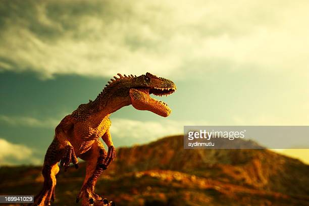 dinosaur - t rex stock photos and pictures