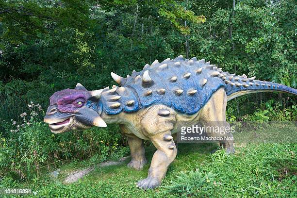 Dinosaurs Alive in Canada's Wonderland featuring the Ankylosaurus which is a genus of thyreophoran dinosaur