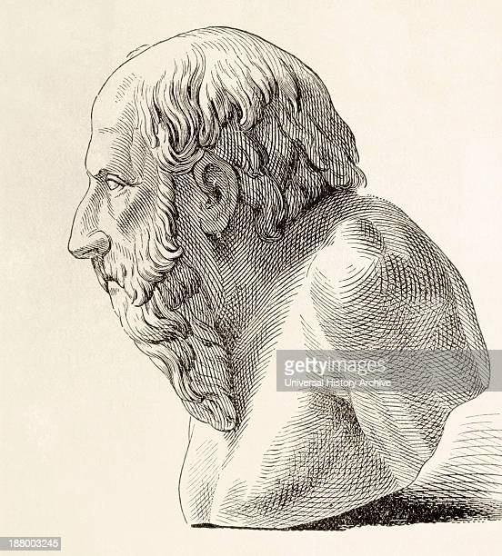 Diogenes Of Sinope Aka Diogenes The Cynic Born Circa 412 Bc Died 323 Bc Greek Philosopher From El Mundo Ilustrado Published Barcelona 1880