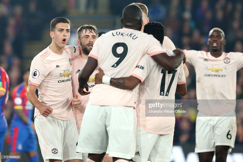 Crystal Palace v Manchester United - Premier League : Fotografía de noticias
