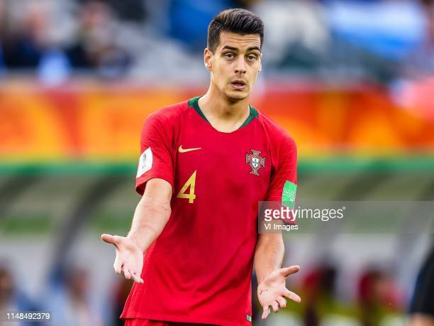 Diogo Filipe Monteiro Pinto Leite of Portugal U20 during the FIFA U20 World Cup Poland 2019 group F match between Portugal U20 and Argentina U20at...