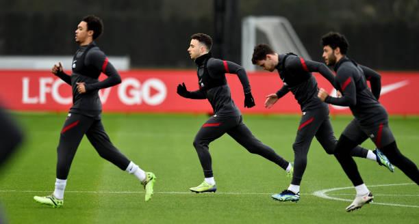 GBR: Liverpool Training Session