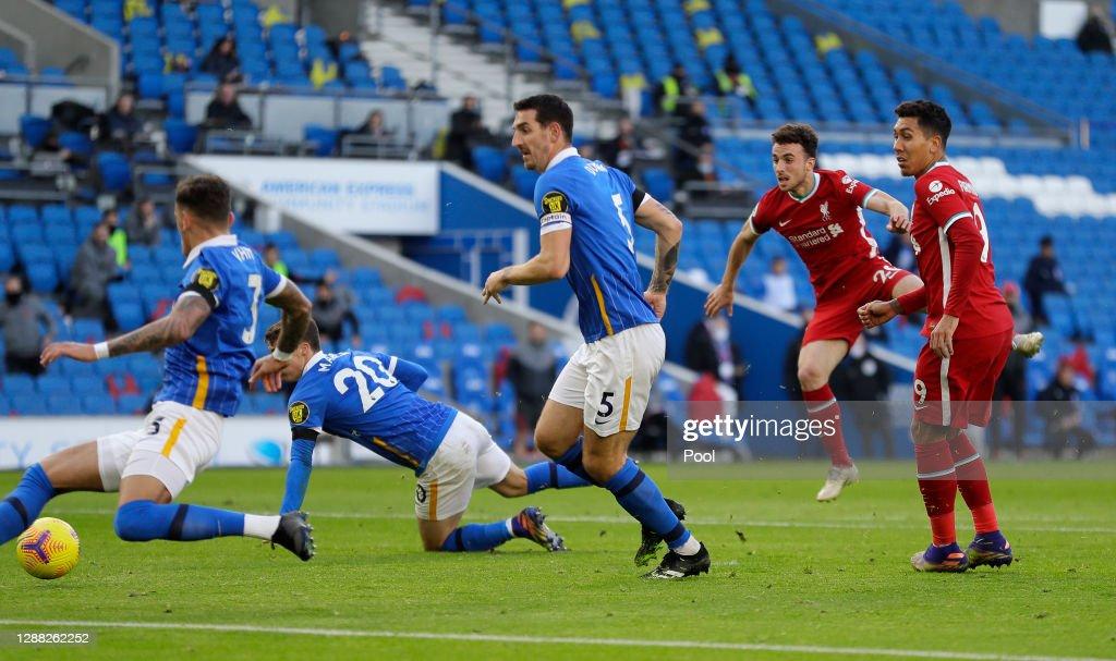 Brighton & Hove Albion v Liverpool - Premier League : Nachrichtenfoto