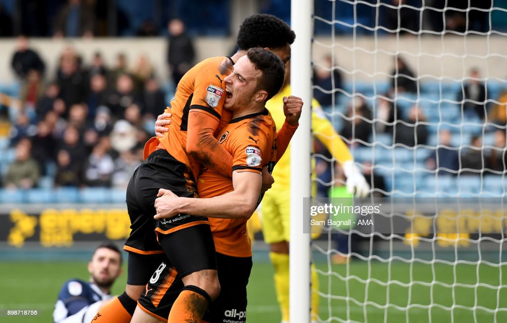 Millwall v Wolverhampton Wanderers - Sky Bet Championship
