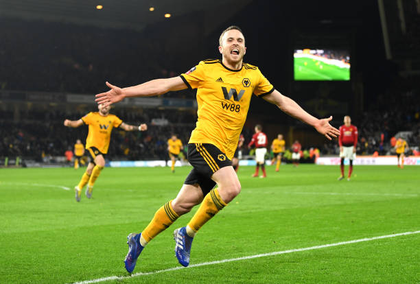 GBR: Wolverhampton Wanderers v Manchester United - FA Cup Quarter Final