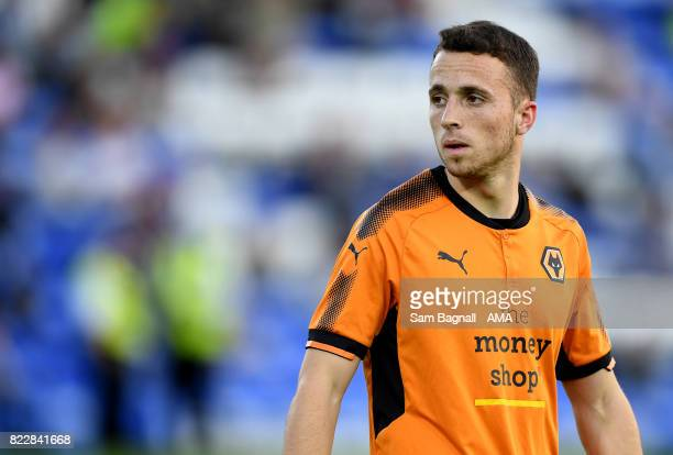 Diogo Jota of Wolverhampton Wanderers during the preseason friendly between Peterborough and Wolverhampton Wanderers at ABAX Stadium on July 25 2017...
