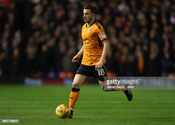 Diogo Jota of Wolverhampton Wanderers during the Sky Bet Championship match between Birmingham City and Wolverhampton at St Andrews on December 4...
