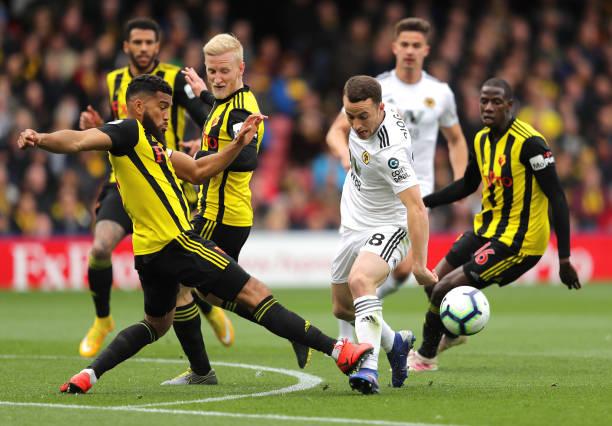 GBR: Watford FC v Wolverhampton Wanderers - Premier League