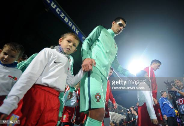 Diogo Leite of Portugal during the under 20's international friendly match between Poland and Portugal on November 9 2017 in Kluczbork Poland