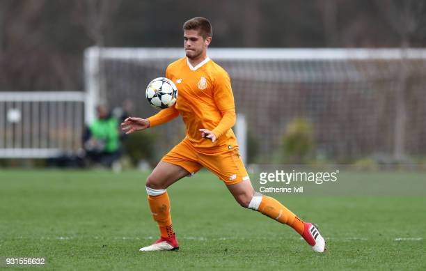 Diogo Lucas Queiros of FC Porto during the UEFA Youth League group H match between Tottenham Hotspur and FC Porto on March 13 2018 in Enfield United...