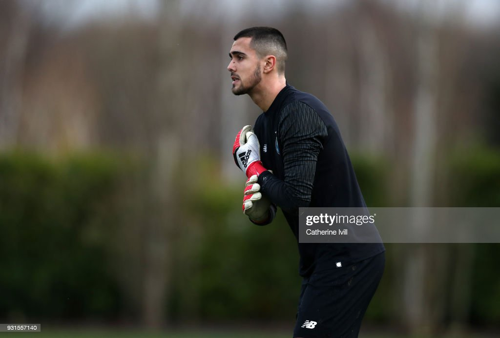 Diogo Merieles Costa of FC Porto during the UEFA Youth League group H match between Tottenham Hotspur and FC Porto on March 13, 2018 in Enfield, United Kingdom.