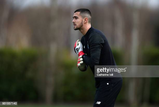 Diogo Merieles Costa of FC Porto during the UEFA Youth League group H match between Tottenham Hotspur and FC Porto on March 13 2018 in Enfield United...