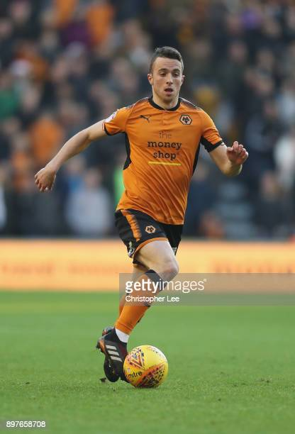 Diogo Teixeira da Silva of Wolverhampton Wanderers in action during the Sky Bet Championship match between Wolverhampton and Ipswich Town at Molineux...