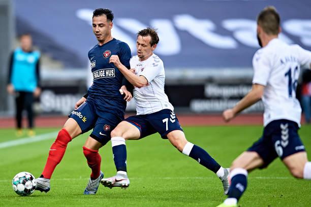 DNK: AGF Arhus vs FC Midtjylland - Danish 3F Superliga