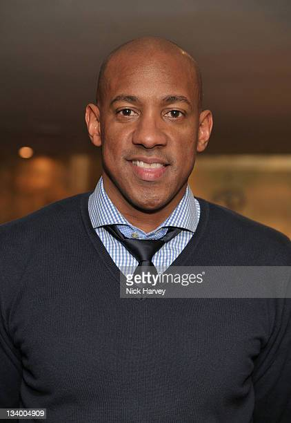 Dion Dublin arrives at The Prince's Trust Rock Gala 2011 After Party at Baglioni Hotel on November 23 2011 in London England