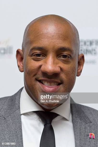 Dion Dublin attends the 21st Legends of football event to celebrate 25 seasons of the Premier League and raise money for music therapy charity...