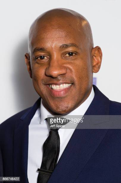 Dion Dublin attends the Legends of Football fundraiser at The Grosvenor House Hotel on October 2 2017 in London England The annual footballthemed...