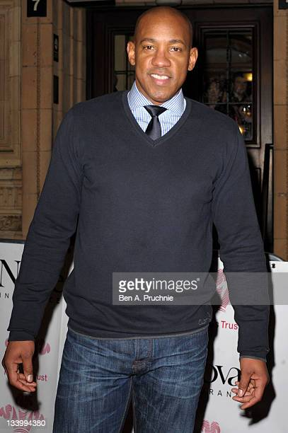Dion Dublin attends the Prince's Trust Rock Gala 2011 at Royal Albert Hall on November 23 2011 in London England