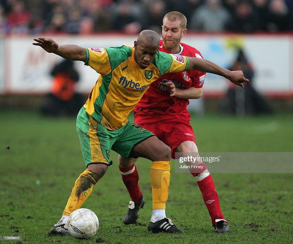 FA Cup 3rd Round: Tamworth v Norwich City : News Photo