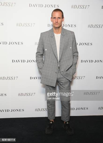 Dion Lee arrives ahead of the David Jones Spring Summer 2017 Collections Launch at David Jones Elizabeth Street Store on August 9 2017 in Sydney...
