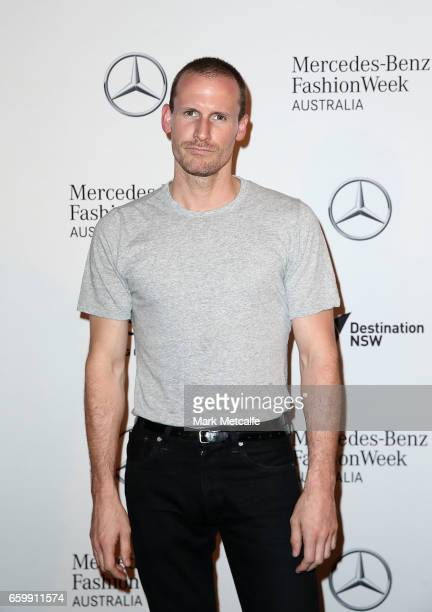 Dion Lee arrives ahead of the MercedesBenz Fashion Week Australia 2017 Schedule Launch at Ovolo Hotel on March 29 2017 in Sydney Australia