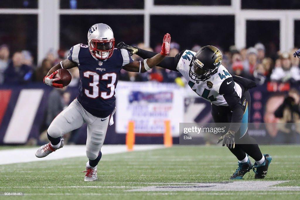 AFC Championship - Jacksonville Jaguars v New England Patriots : News Photo