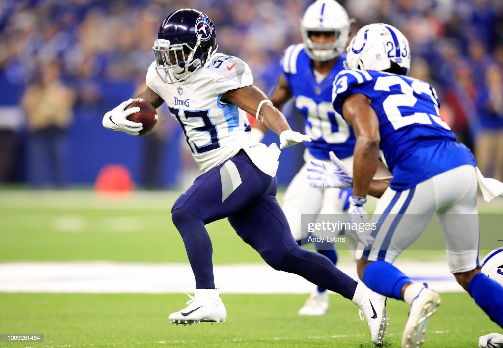 Tennessee Titans v Indianapolis Colts : Fotografia de notícias