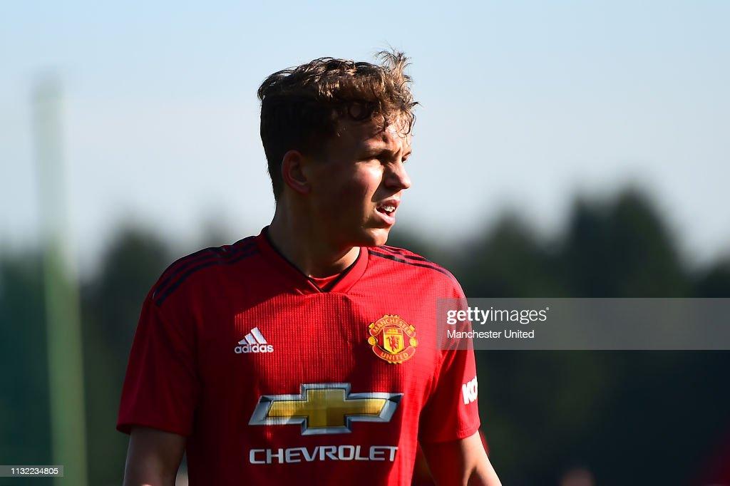 GBR: Blackburn Rovers v Manchester United: U18 Premier League