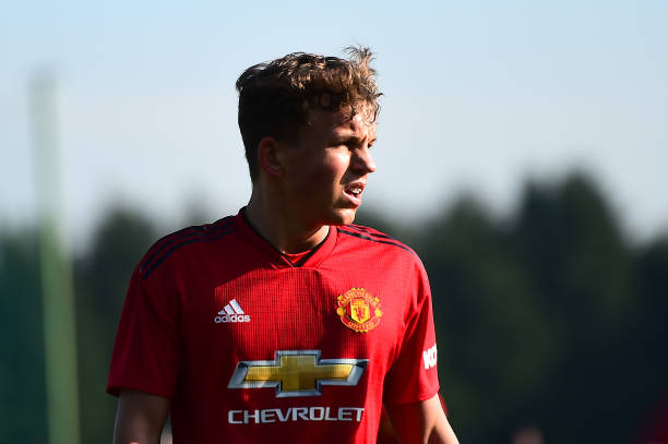 GBR: Blackburn Rovers v Manchester United: U18 Premier League
