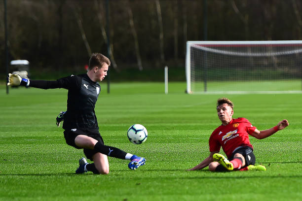 GBR: Manchester United v West Bromwich Albion: U18 Premier League